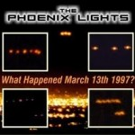 Phoenix Lights March poster
