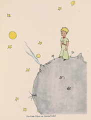 Little Prince on Asteroid